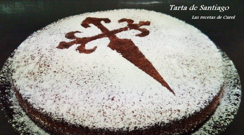 Tarta de Santiago, receta tradicional