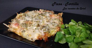 Pizza tortilla
